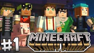EN AVANT POUR L'AVENTURE ! | Minecraft Story Mode ! #Ep1(Jesse et quatre aventuriers découvrent qu'un événement terrifiant se prépare. Ils se lancent donc dans une expédition à travers les principales dimensions de ..., 2015-10-14T11:00:00.000Z)