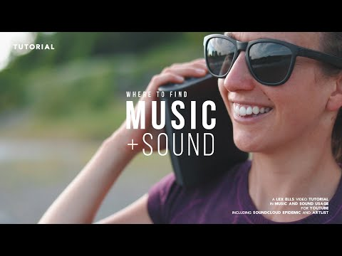 Where to find MUSIC + SOUND for YouTube Videos