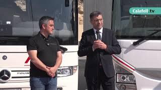 El transport escolar de Calafell incorporarà 8 vehicles nous