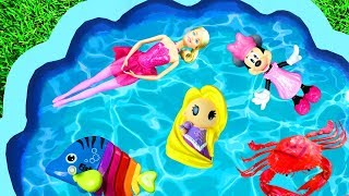 Learn with Pool Of Toys - Barbie, Pj Masks and Animals - Toys for Kids and Children Pool