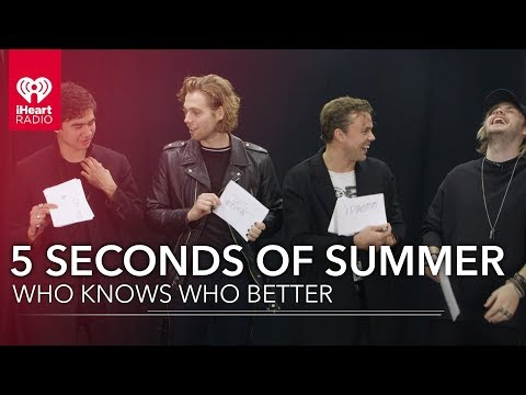 Can 5 Seconds Of Summer Name All Their Dogs? | Who Knows Who Better