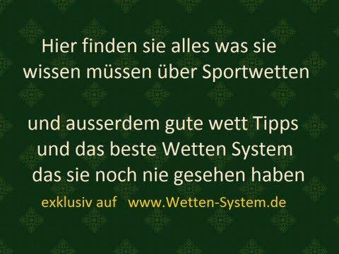 WETT TIPPS und Sport Wetten System