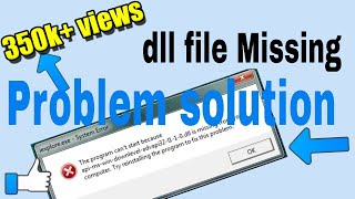 How to solve all DLL missing files problem at once from any window| Urdu/Hindi