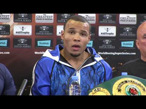 Eubank Jr vows to 'take over' World Boxing Super Series