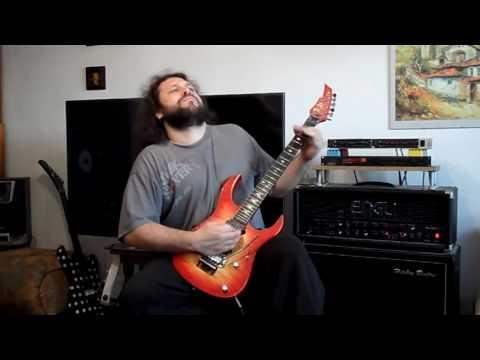 Dio - Straight Through The Heart guitar cover