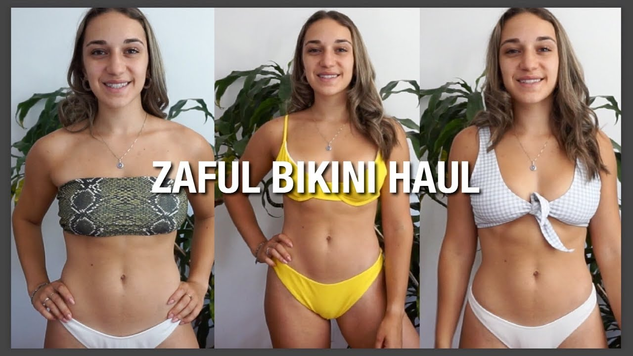 eb385bafc2 ZAFUL BIKINI TRY ON HAUL | HONEST REVIEW - YouTube
