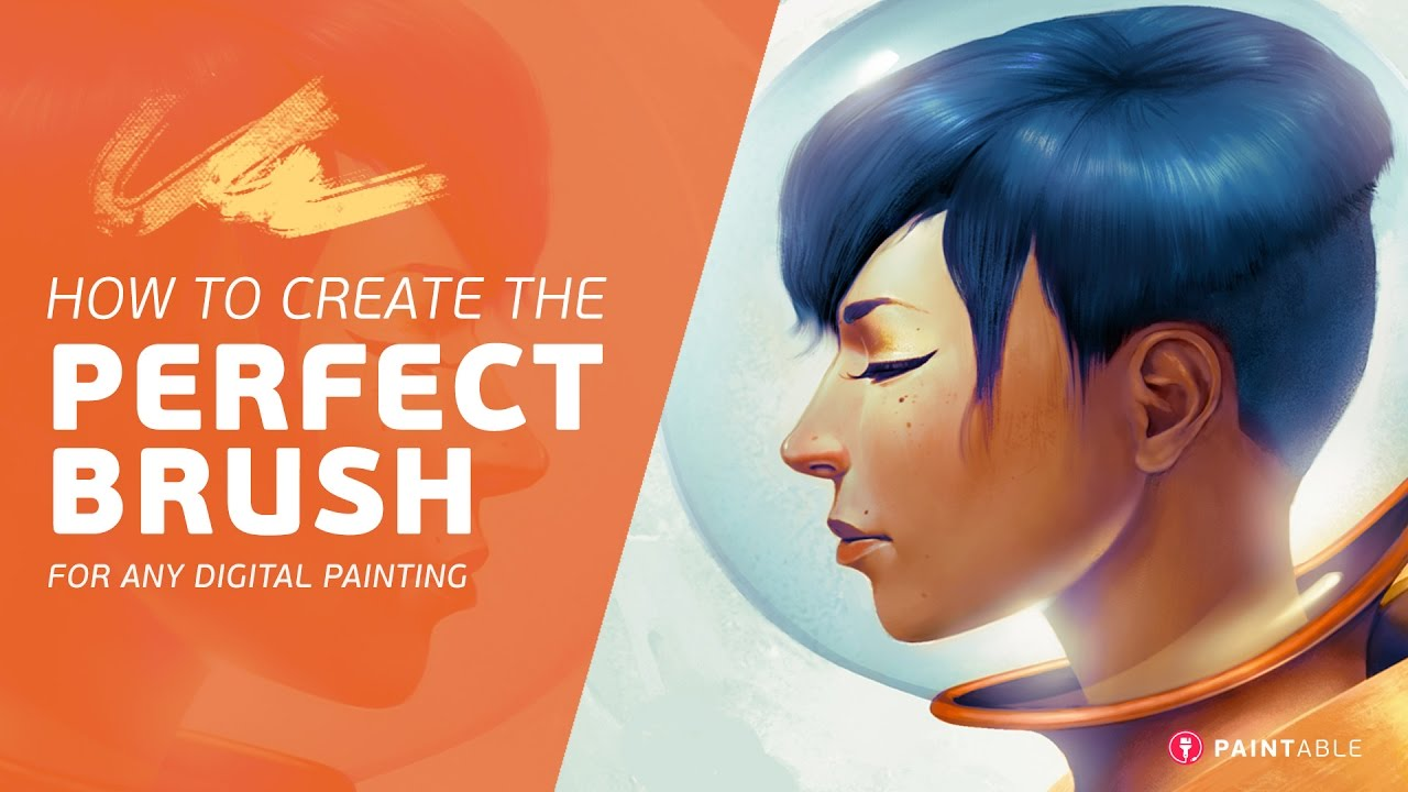 How to Create the Perfect Brush for ANY Digital Painting ...