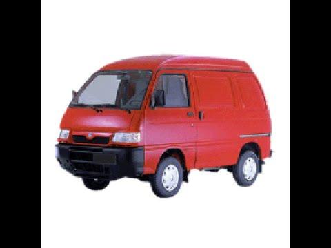 Piaggio Porter (1.3 16v) – Workshop, Service, Repair Manual