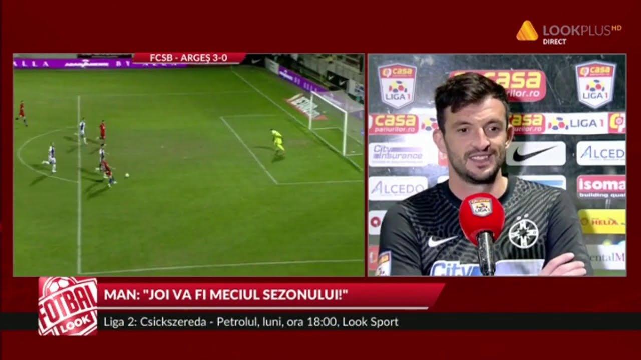 FCSB - FC ARGEȘ 3-0, ce a zis Straton, excelent la primul joc pentru FCSB
