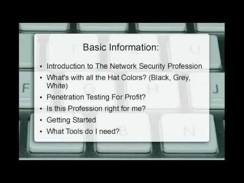 NetSecNow - Introduction To Network Security