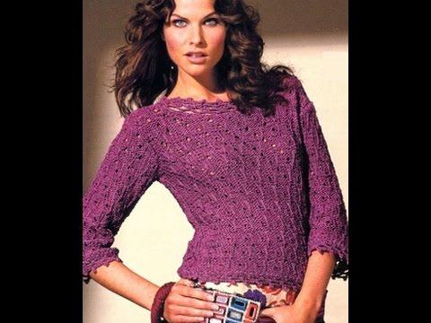 джемперы женские вязаные спицами 2019 Sweaters Womens Knitting