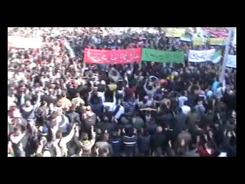 (02-03-2012) Idlib | A massive protest on...