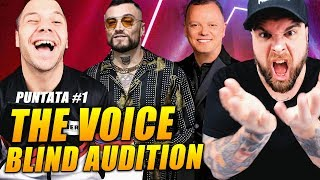 The Voice - Blind Audition *PRIMA PARTE* ( prima puntata 2019) tvoi 2019
