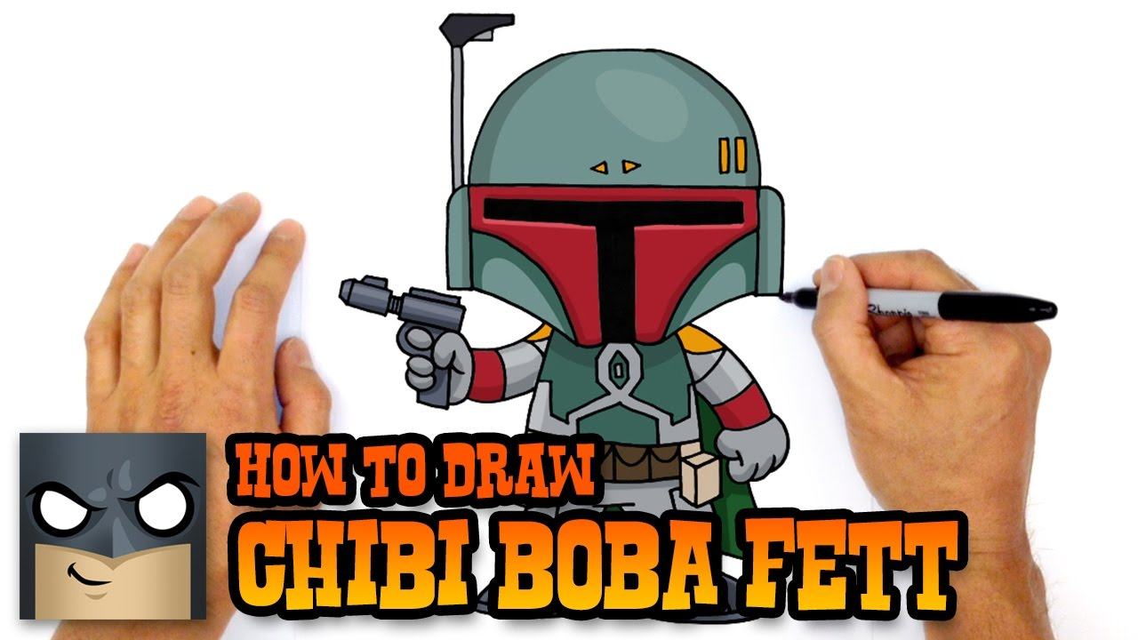 How To Draw Star Wars Boba Fett