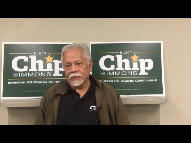 Virgil Domingo endorses Chip Simmons for Sheriff