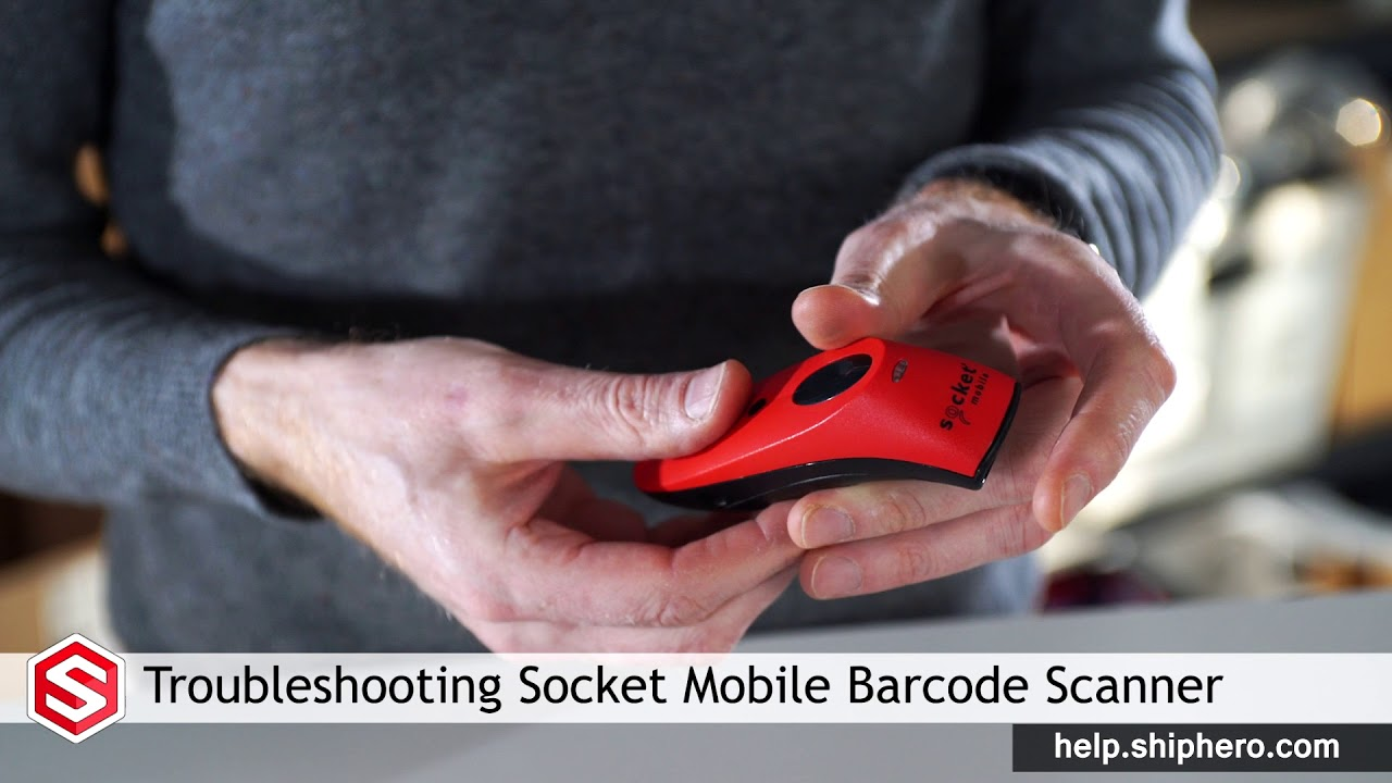 Troubleshooting The Socket Mobile Barcode Scanner Youtube