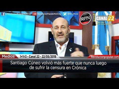 Cúneo sigue cargando contra Israel (VIDEO)
