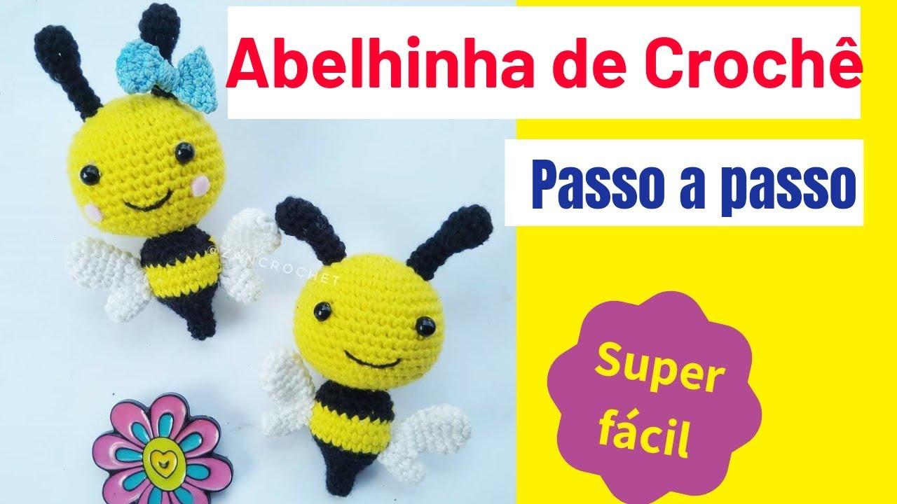 DIY Amigurumi Amigurumi Bee Models Step by Step Bee Recipe Anjinho ... | 720x1280