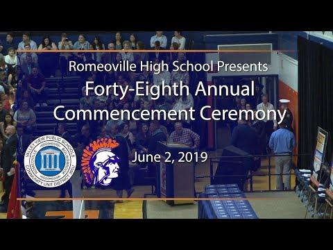 Romeoville High School Graduation 2019