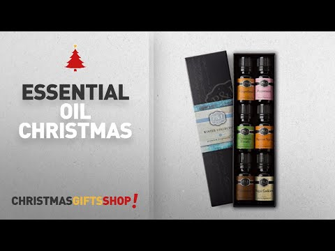 Top Essential Oil Christmas Ideas: Winter Set of 6 Premium Grade Fragrance Oils - Cinnamon,