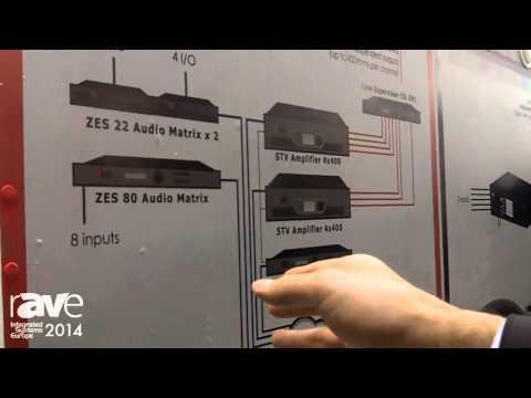 ISE 2014: LDA Shows Sonora PA/VA Distributor System