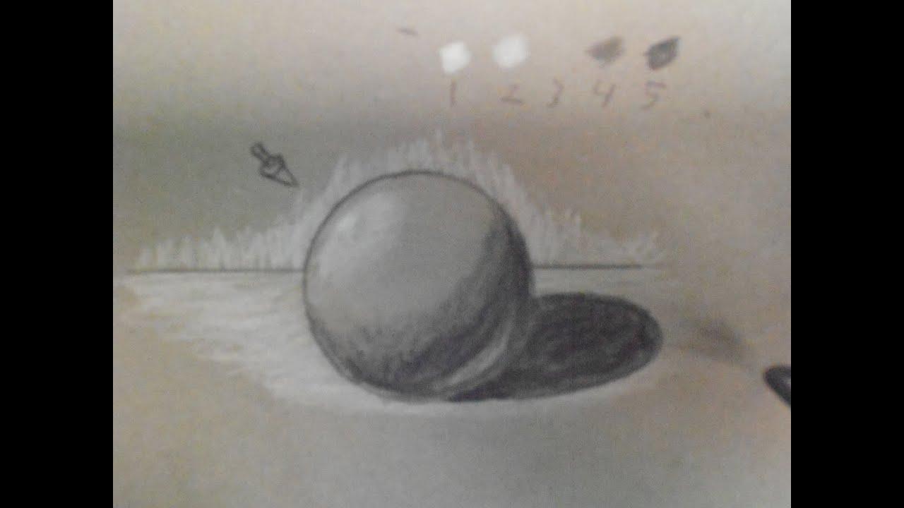 Como dibujar luz y sombra 1 luz y sombra en los objetos for Mesa de dibujo con luz
