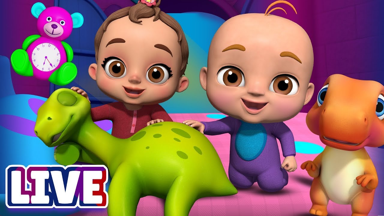 Download Are You Sleeping? & Many More Baby Songs & 3D Nursery Rhymes by ChuChu TV – LIVE Stream