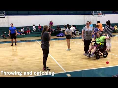 2017 Summer Adapted Physical Activity Camp with adults, day 1