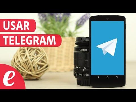Como usar Telegram (español)