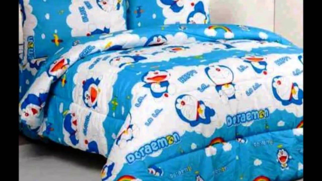 contoh desain kamar tidur anak tema doraemon - kamar tidur anak