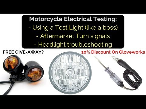 Motorcycle Electrical: Test Lights, Turn Signals and Electrical Issues