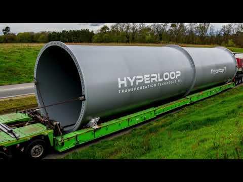 HyperloopTT Announces Commercial Hyperloop System in UAE
