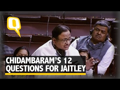12 Questions P Chidambaram Has For Modi On Budget 2018 | The Quint