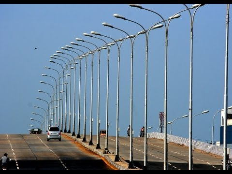 IT Bangalore Longest Flyover-Electronic City India *HD*