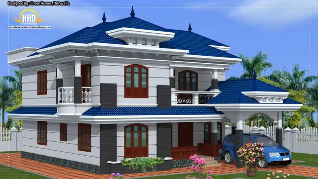 architecture house plans compilation april 2012 youtube - Blue House Design