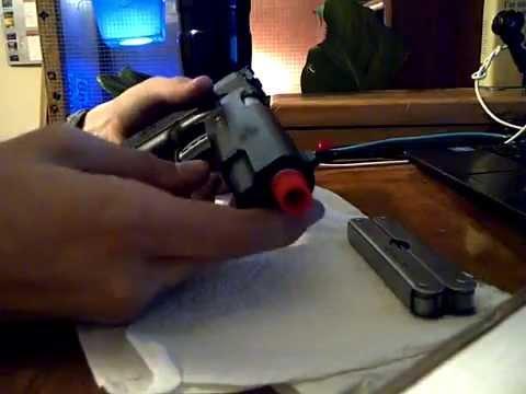 How to Remove Orange Tip - Cybergun Colt 1911 Mk IV co2 GBB Airsoft Gun