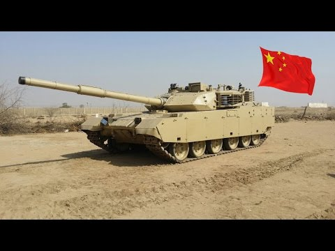Chinese MBT3000 Main Battle Tank