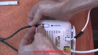 Vodafone LTE Außenantenne für besseren LTE Empfang - Installation und Position - mit Speedcheck