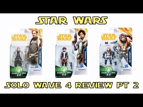 Star Wars Solo 3.75 inch figures wave 4 in hand review Part 2