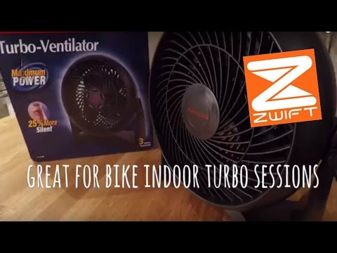 Best Fan For Zwift Turbo Trainer Bike Sessions Youtube