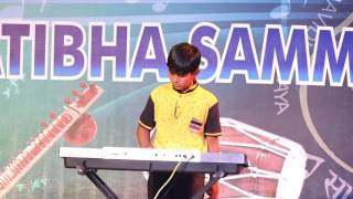 Keyboard Playing Performed  by Jaishnu Student of Jaipur Sangeet Mahavidyalaya