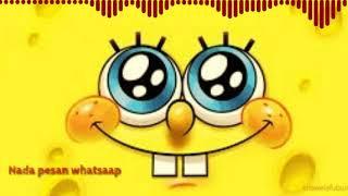 Nada pesan Whatsaap_Spongebob