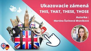 #3 Angličtina - Ukazovacie zámená