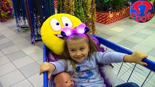 Кукла Беби Бон и Ярослава ШОППИНГ МНОГО ИГРУШЕК Видео для детей Tiki Taki