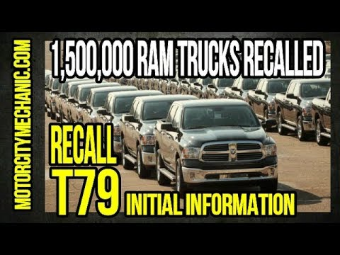 FCA Recall T79 Initial Information.