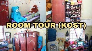 ROOM TOUR (KAMAR KOST) || Satu Kamar Empat orang???!!!!!