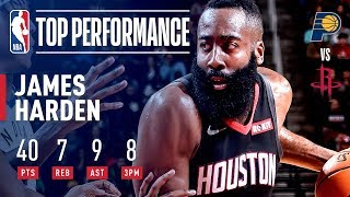 James Harden DROPS 40 Against The Pacers | November 11, 2018