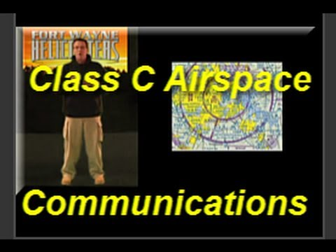 Class C Charlie Airspace Communications Helicopter Check Ride Tip