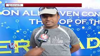 Traffic Restrictions For Hyderabad Marathon  Telugu News