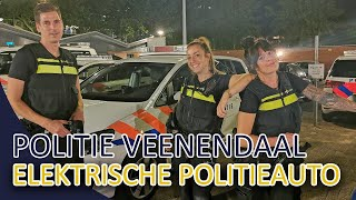 Politie Veenendaal  Elektrische politieauto  Verdachte situatie bij een zendmast.
